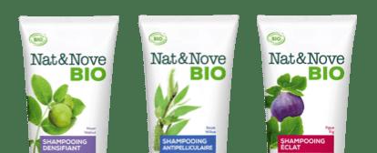 Shampooings Nat&Nove BIO
